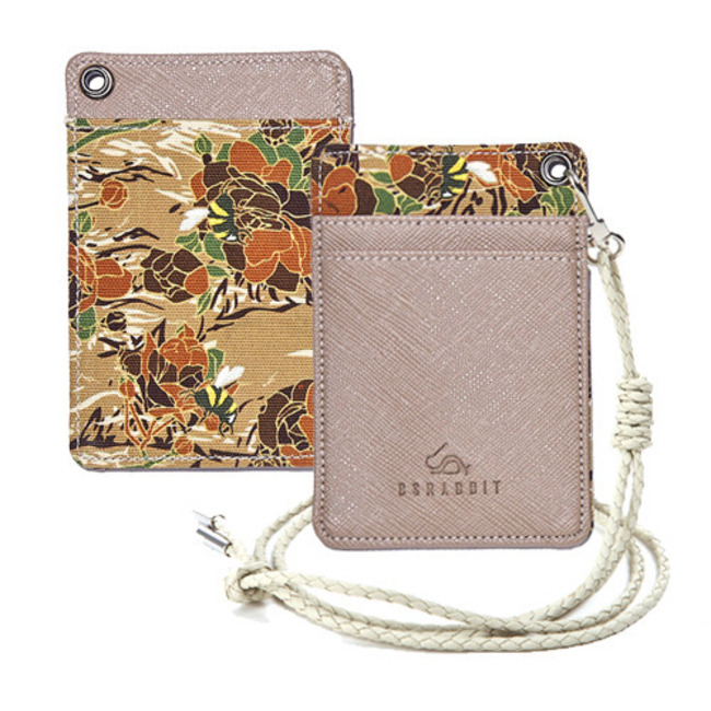 BS CARD HOLDER CAMO FLOWER