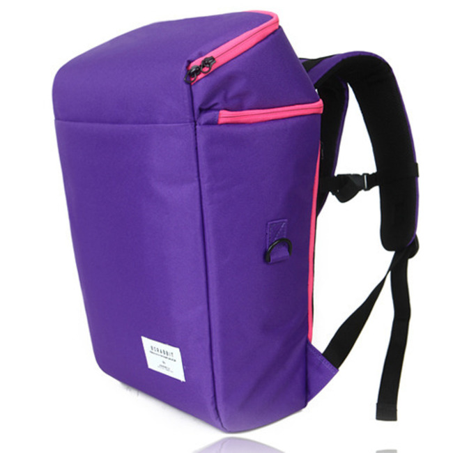 BS.CLASSIC SQUARE BACKPACK PURPLE