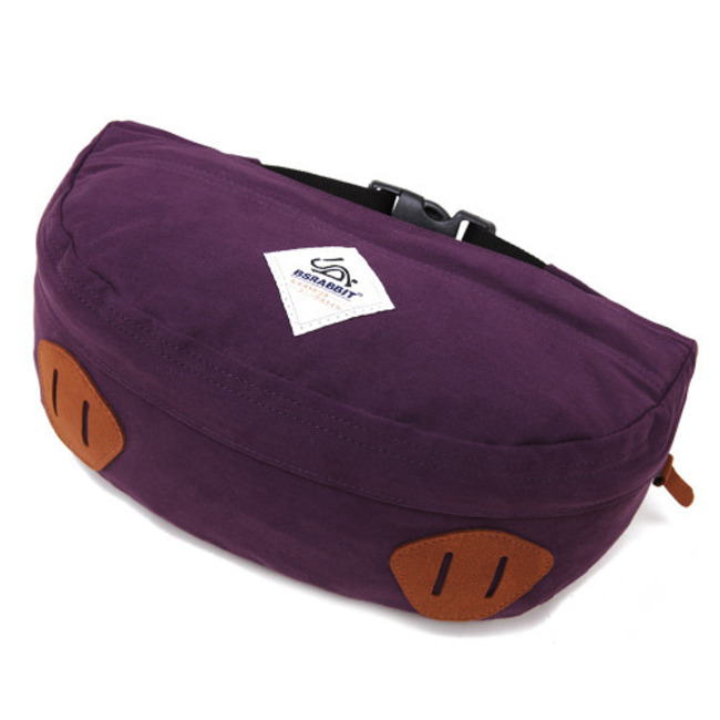 BS.Division Waist Bag Purple