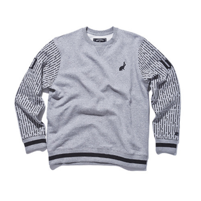 10bs crewneck GRAY