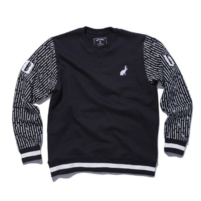 10bs crewneck BLACK