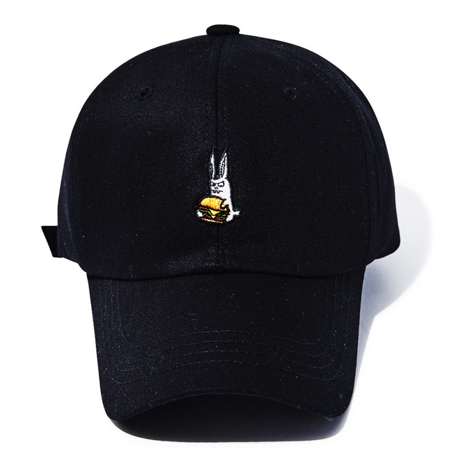 GR_BURGER STRAPBACK BLACK