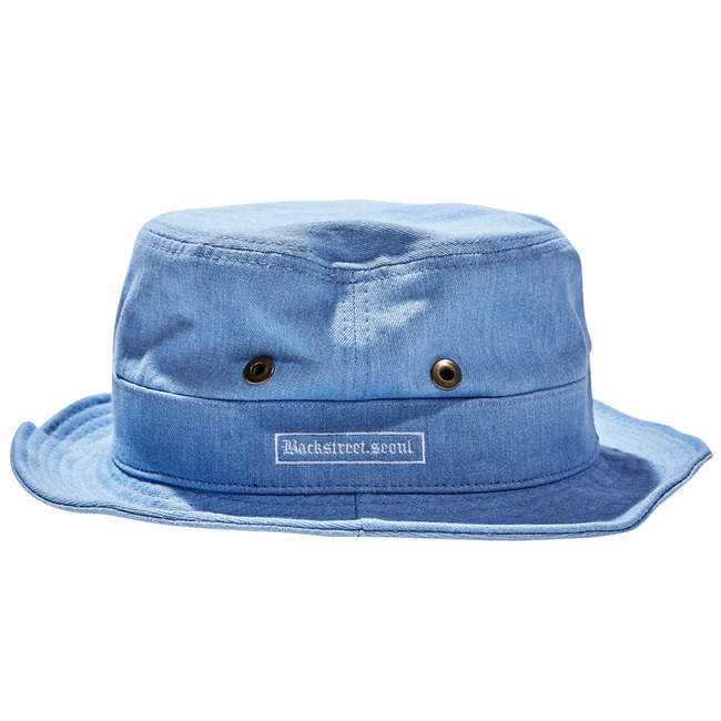 BS.invincible bucket hat DENIM
