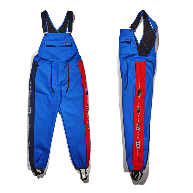 BBB Waterproof overall jogger pants BLUE [마지막예약접수중]
