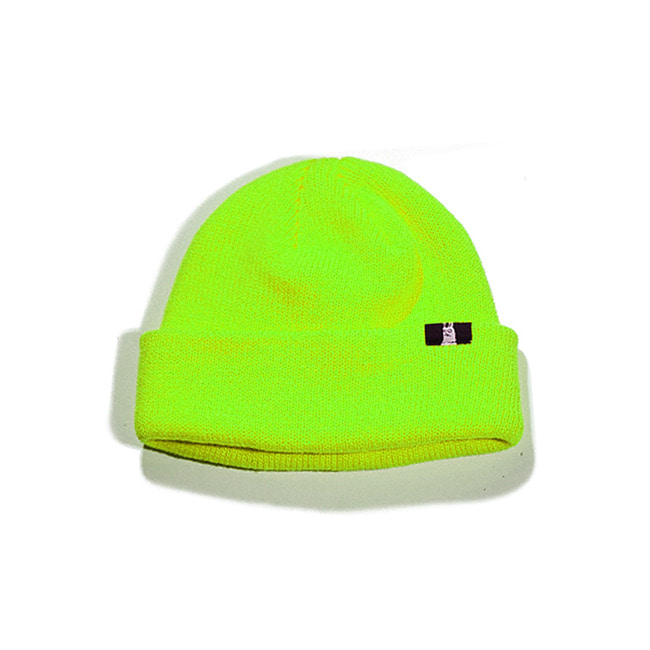 BS SP short Beanie LIGHT GREEN