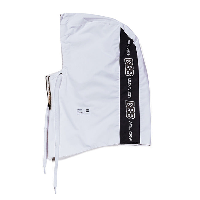 BBB Waterproof ZIP UP HOODWARMER WHITE