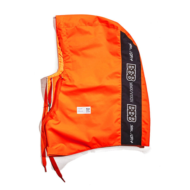 BBB Waterproof ZIP UP HOODWARMER ORANGE