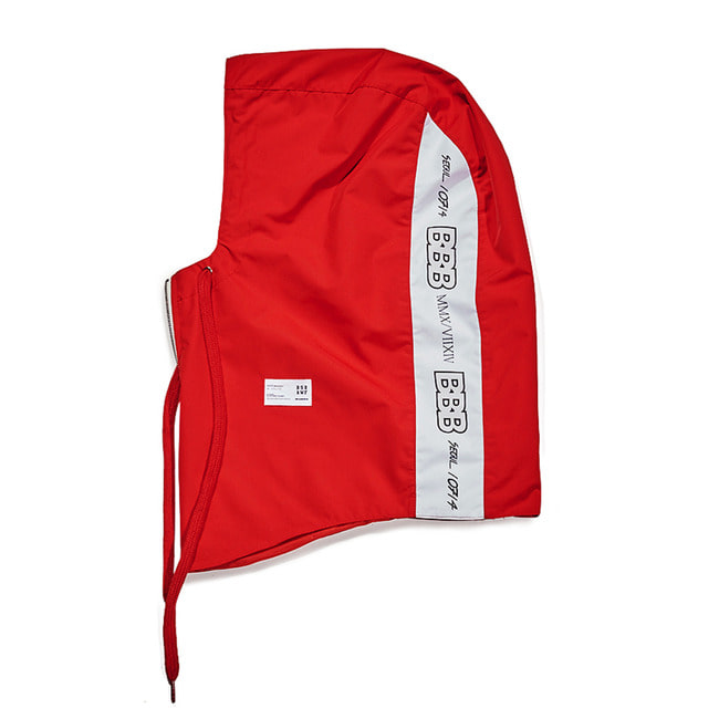BBB Waterproof ZIP UP HOODWARMER RED