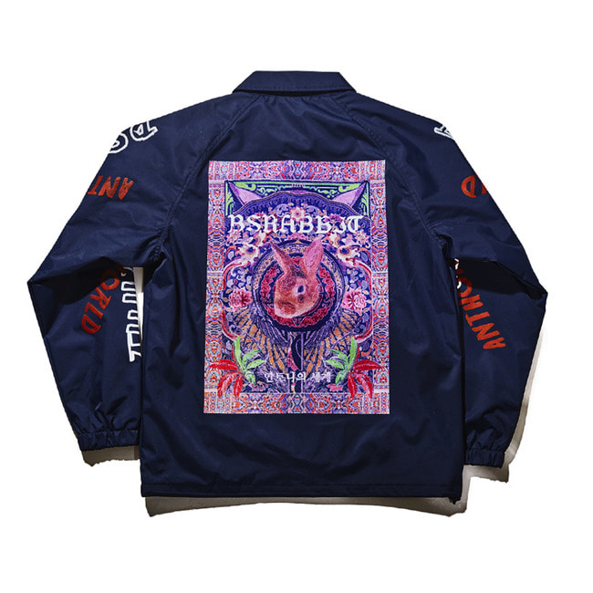 BSXAnthonysworld COACH JACKET NAVY