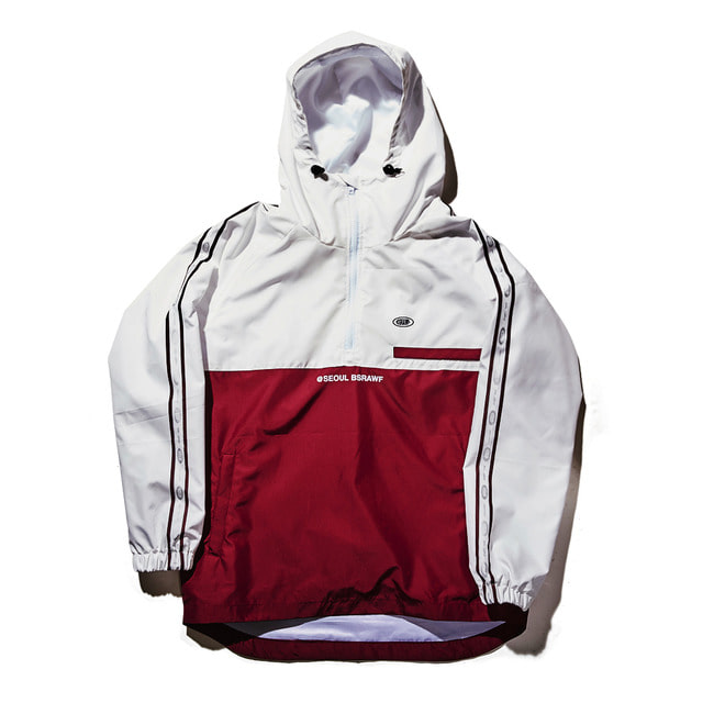 Intense anorak jacket WHITE