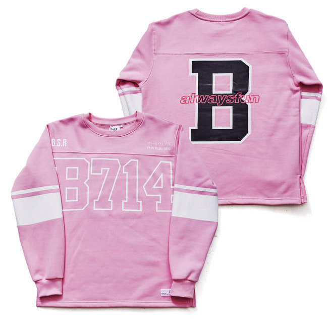 B714 PULLOVER PINK