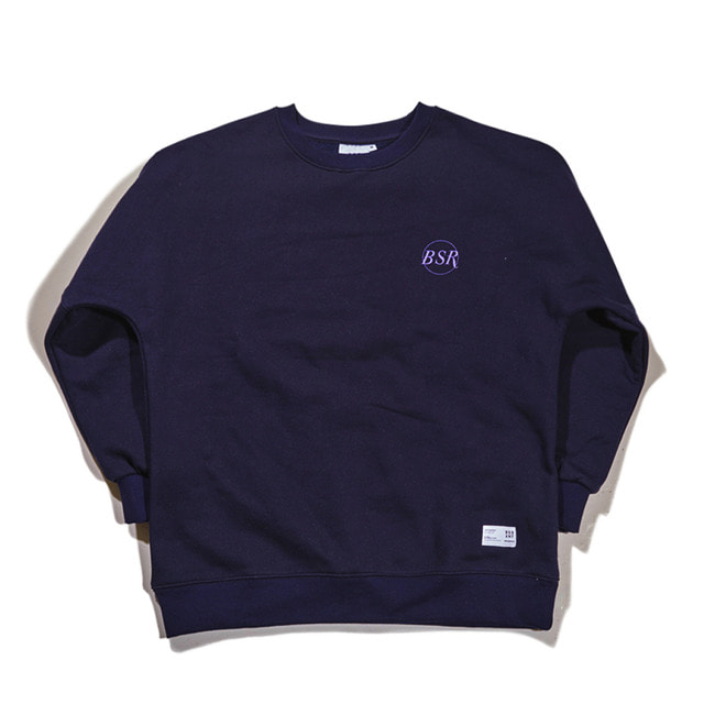 THE B CREWNECK NAVY