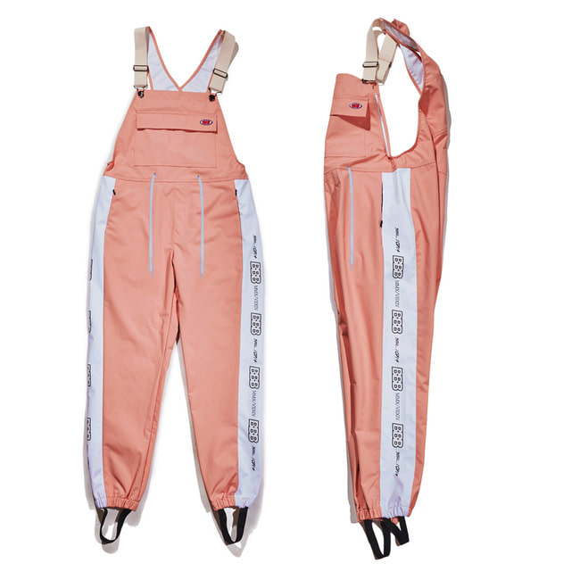 BBB Waterproof overall jogger pants PINK
