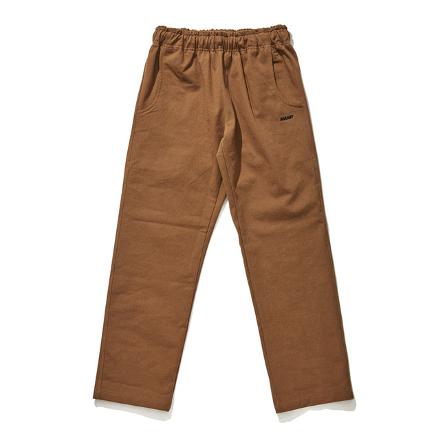 BSR COTTON BASIC TRACK PANTS BROWN