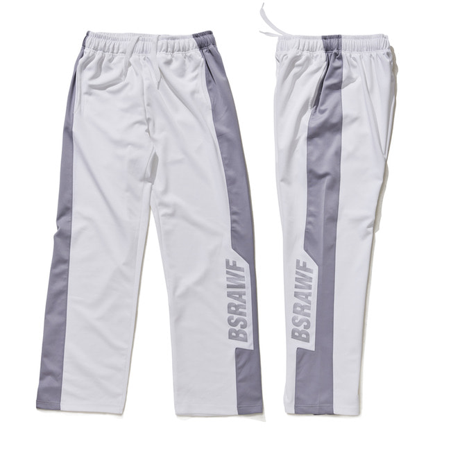 BSRAWF TRACK PANTS WHITE