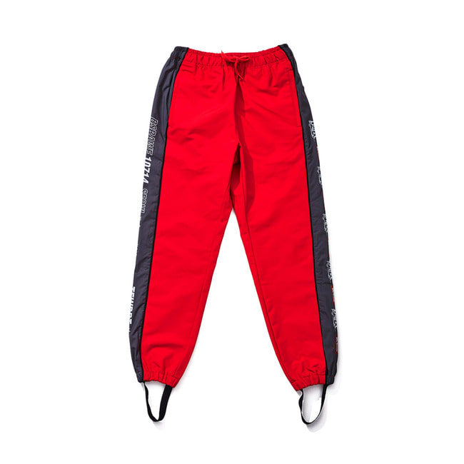 BSR WATERPROOF JOGGER PANTS RED