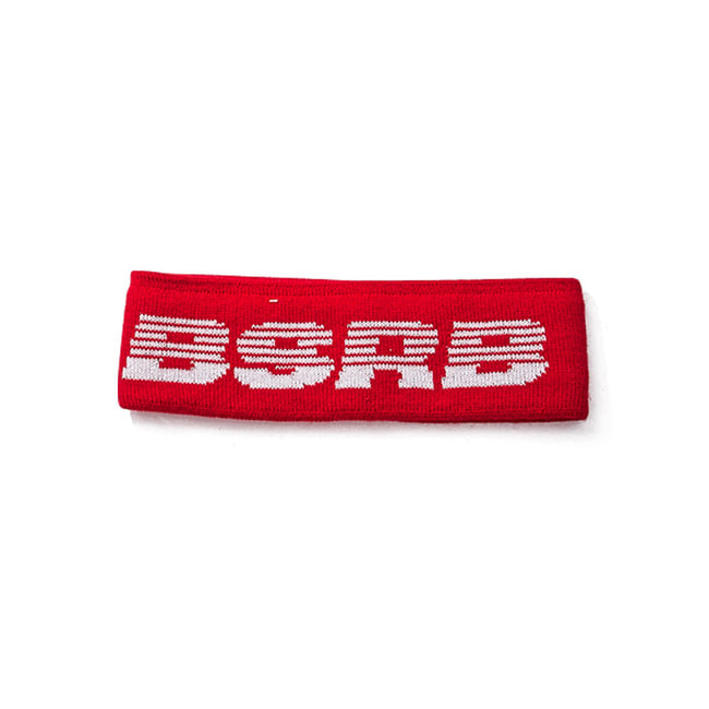 BSRB KNIT HEADBAND RED