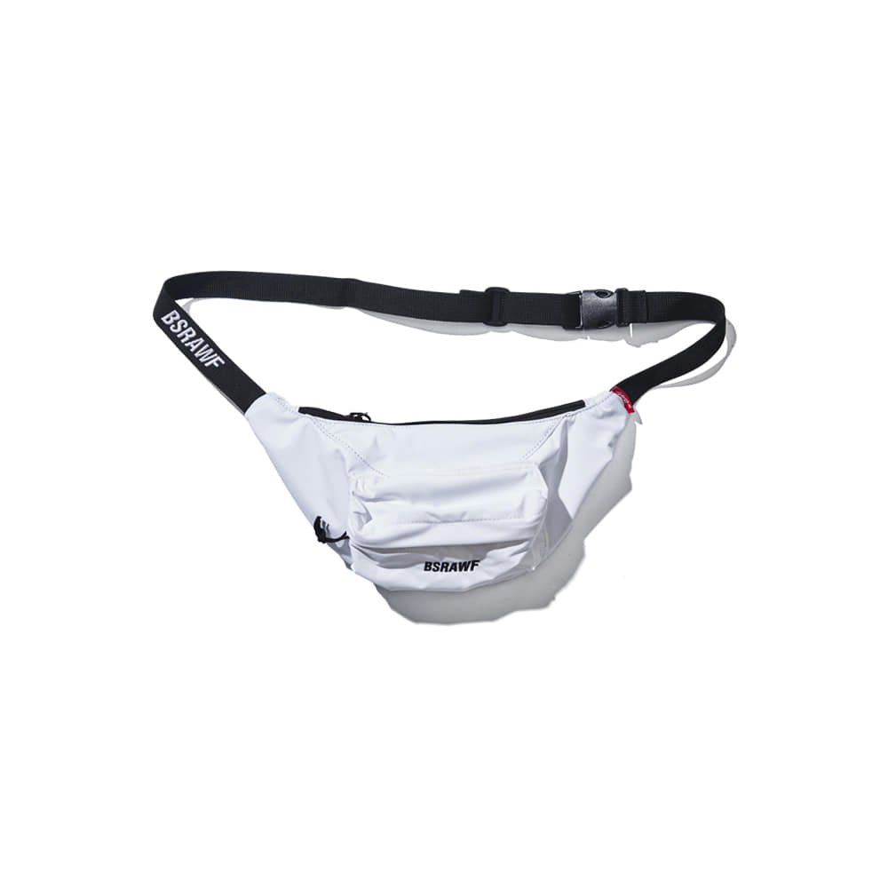 BSRABBIT BSRAWF POCKET WAISTBAG WHITE (waterproof)