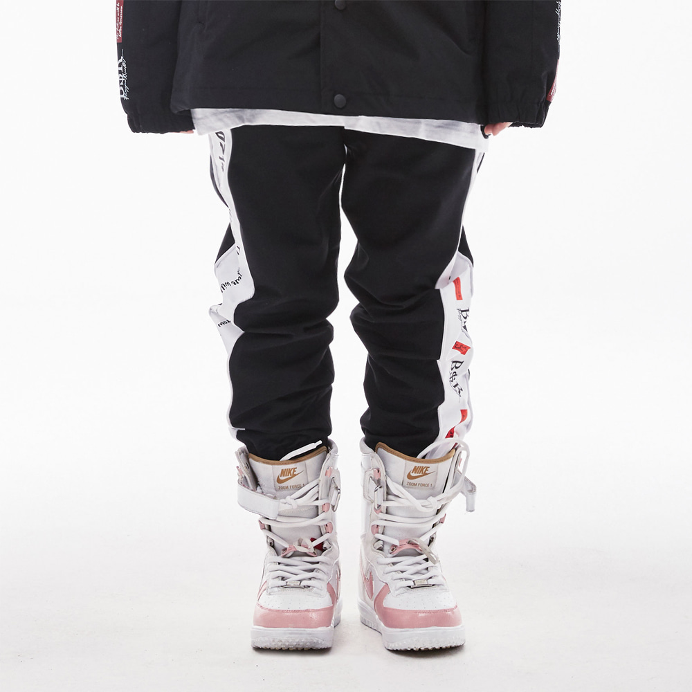 BSR WATERPROOF JOGGER PANTS BLACK [XXL 추가]