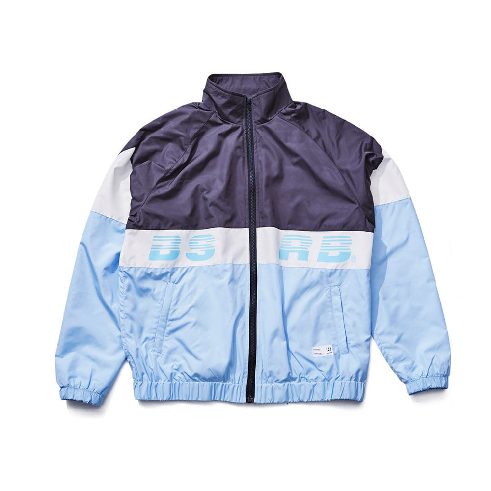 BSRABBIT BSRB TRACK JACKET SKYBLUE