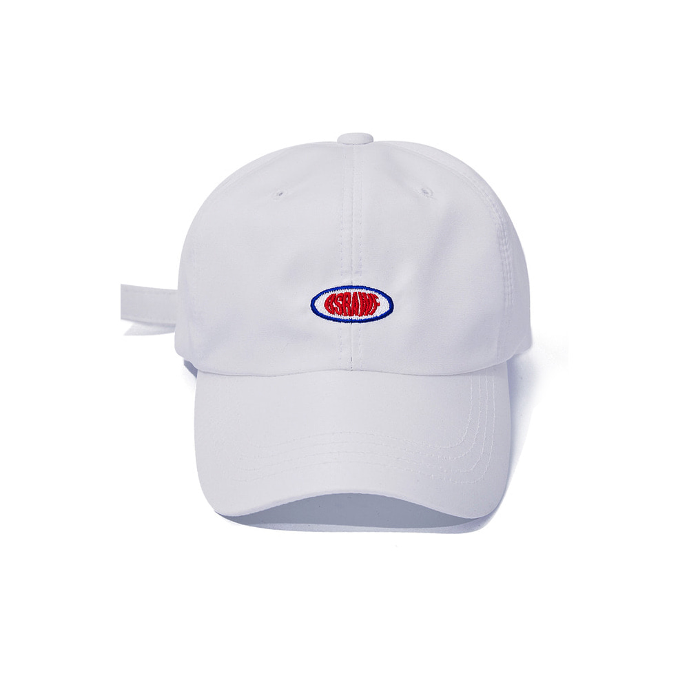 BSRABBIT BSRAWF OXFORD STRAPBACK WHITE