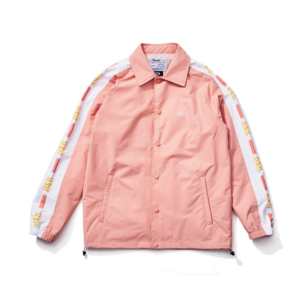 BSR COACH JACKET INDY PINK