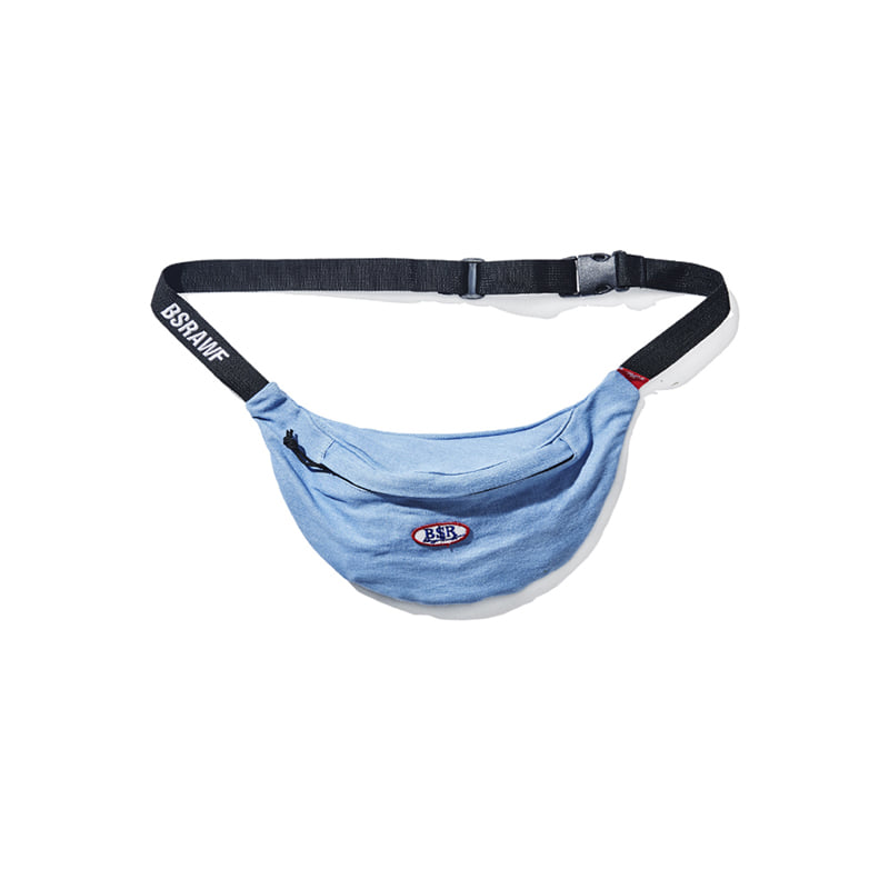 BSRABBIT BSR DENIM WAISTBAG SKYDENIM