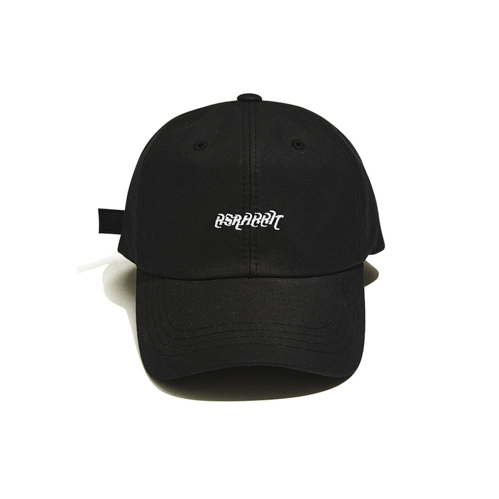 BSRABBIT WASHING CAP BLACK
