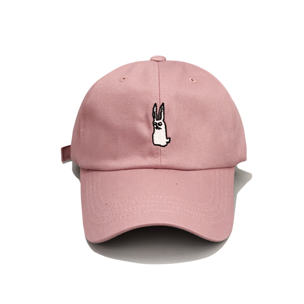 BSRABBIT GR OPEN ZIPPER CAP INDY PINK