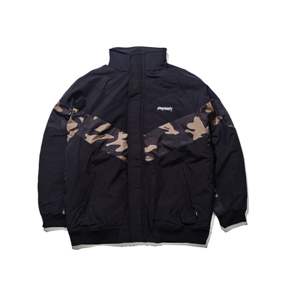 BSRABBIT BSR MIGHT JACKET CAMO BLACK