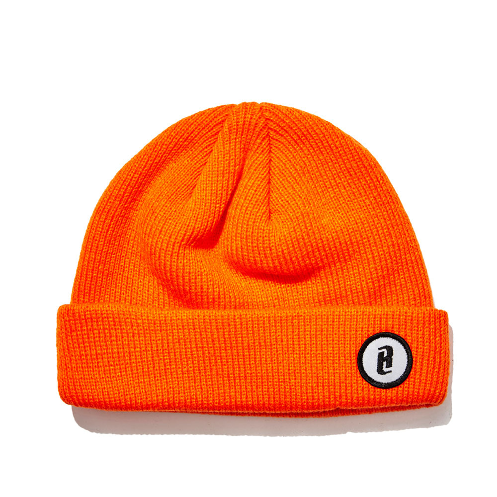 BSRABBIT B WAPPEN BEANIE ORANGE