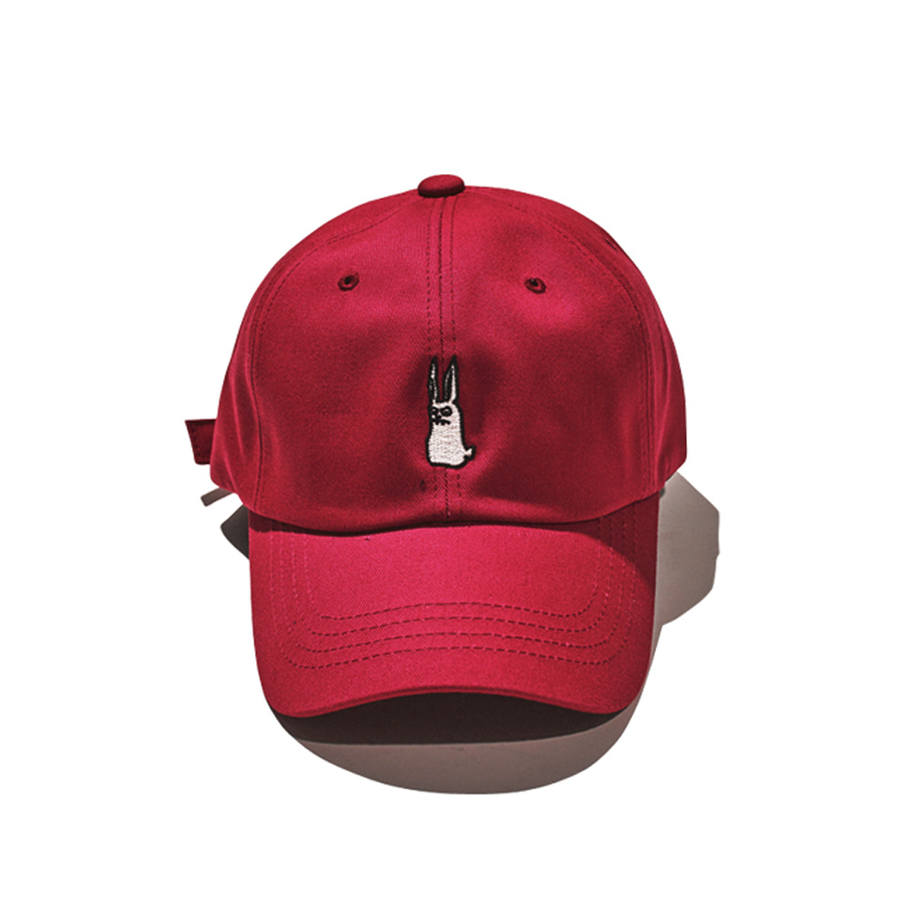 BSRABBIT GR STRAPBACK RED