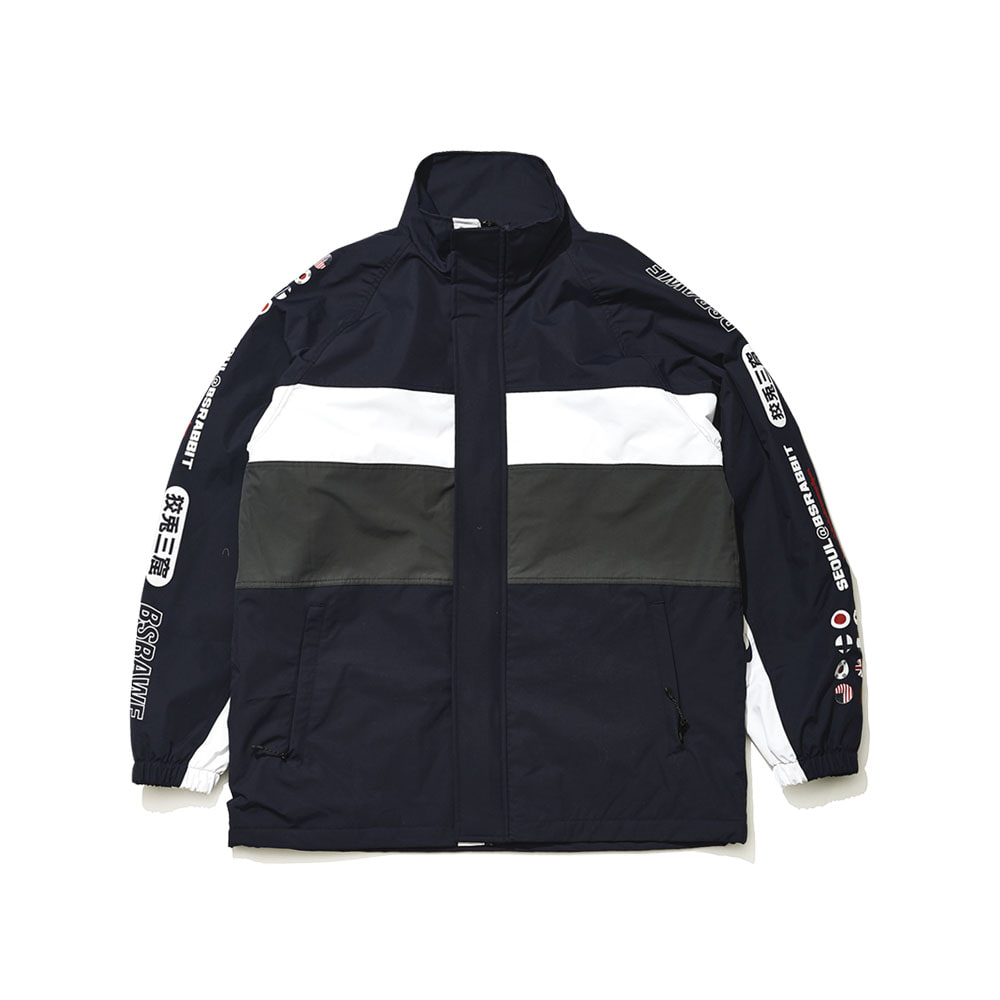 BSRABBIT COMPETITIVE JACKET NAVY