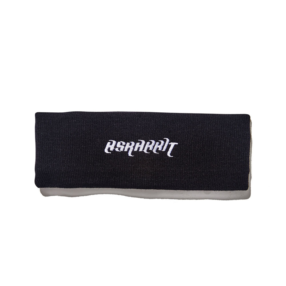 BSRABBIT BSRABBIT KNIT HEADBAND BLACK