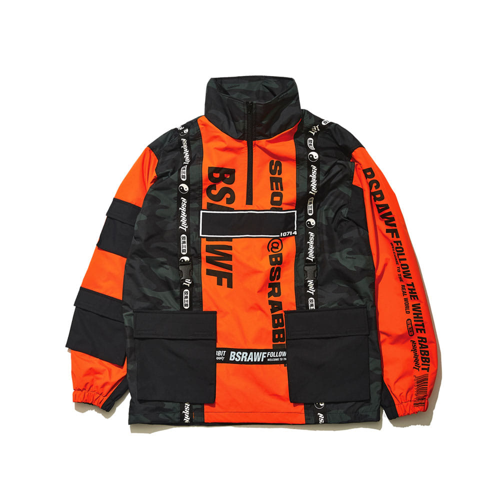 BSRABBIT BSRAWF HUNTING JACKET ORANGE