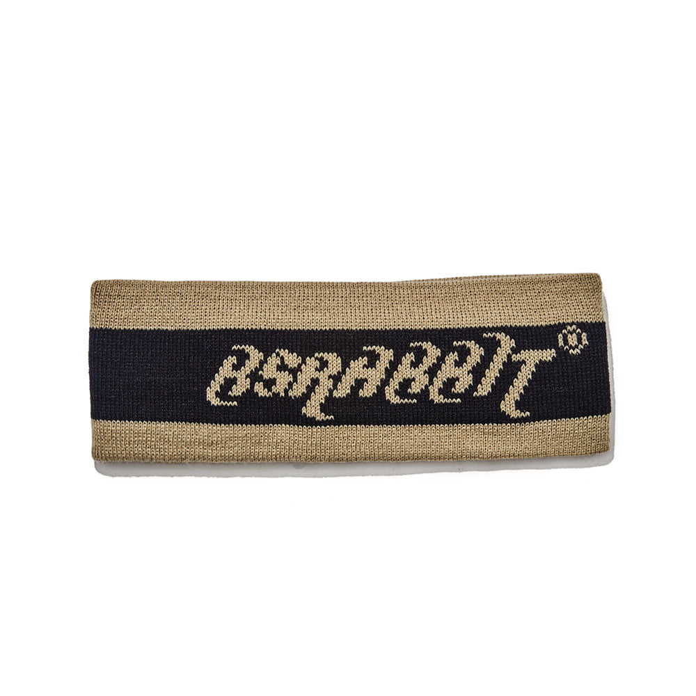 BSRABBIT BS KNIT HEADBAND BLACK