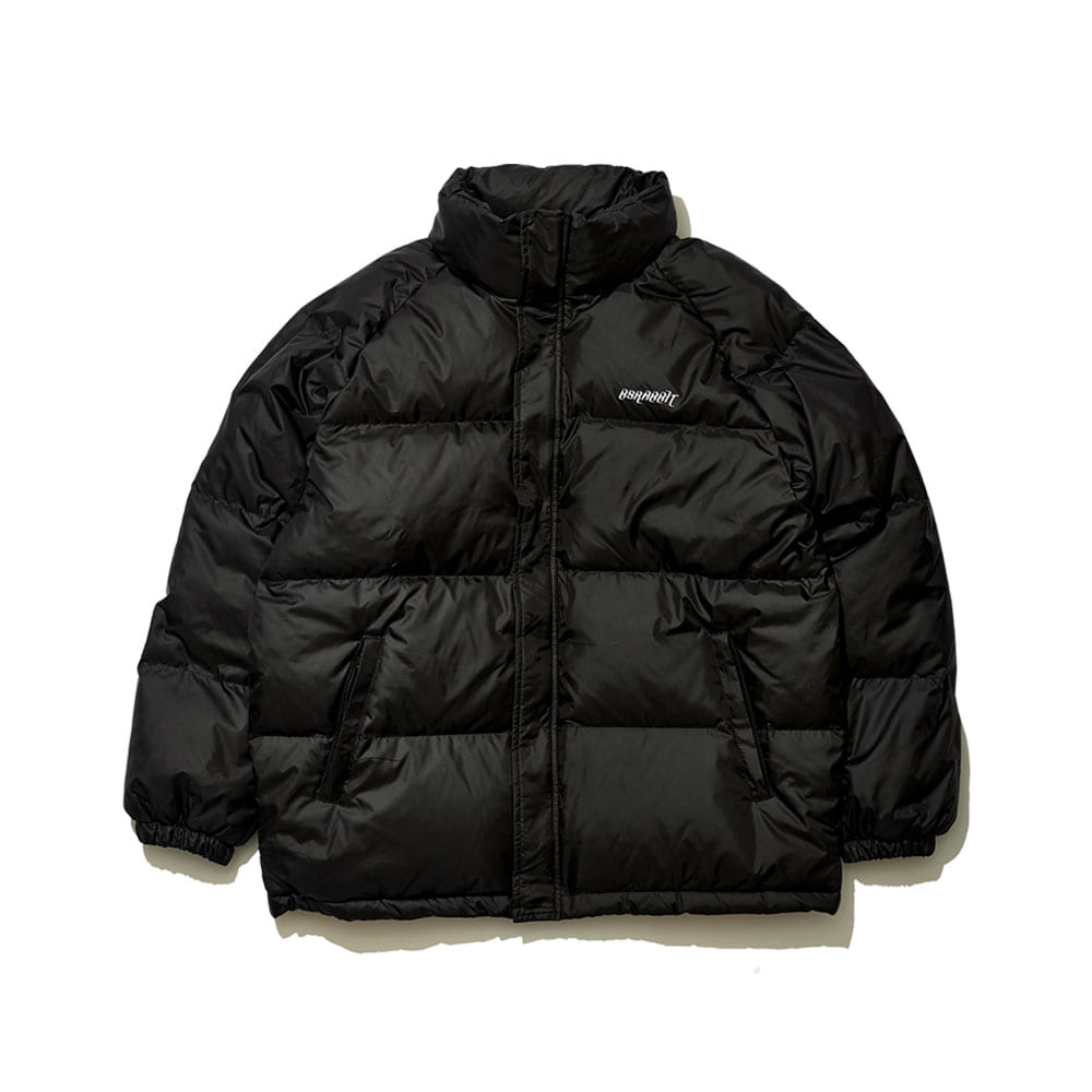 BSRABBIT BSR DUCK DOWN PARKA BLACK