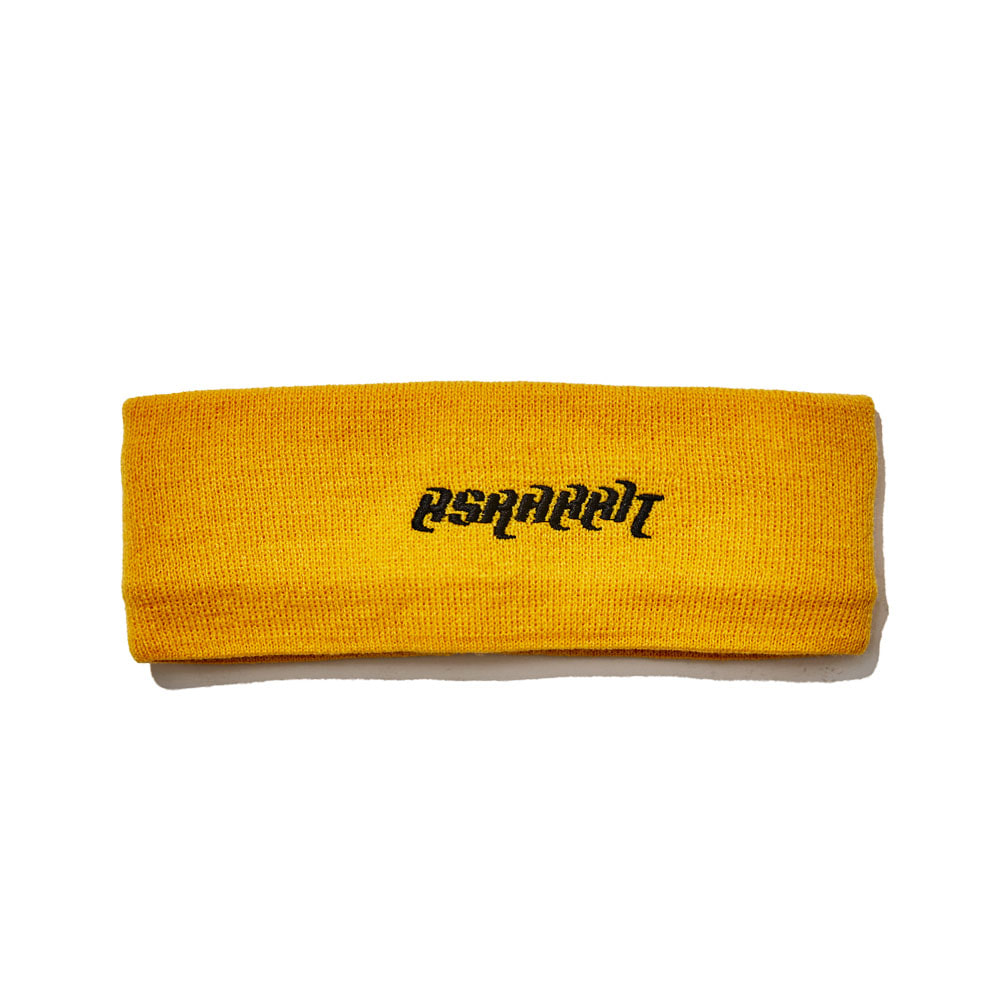 BSRABBIT BSRABBIT KNIT HEADBAND YELLOW