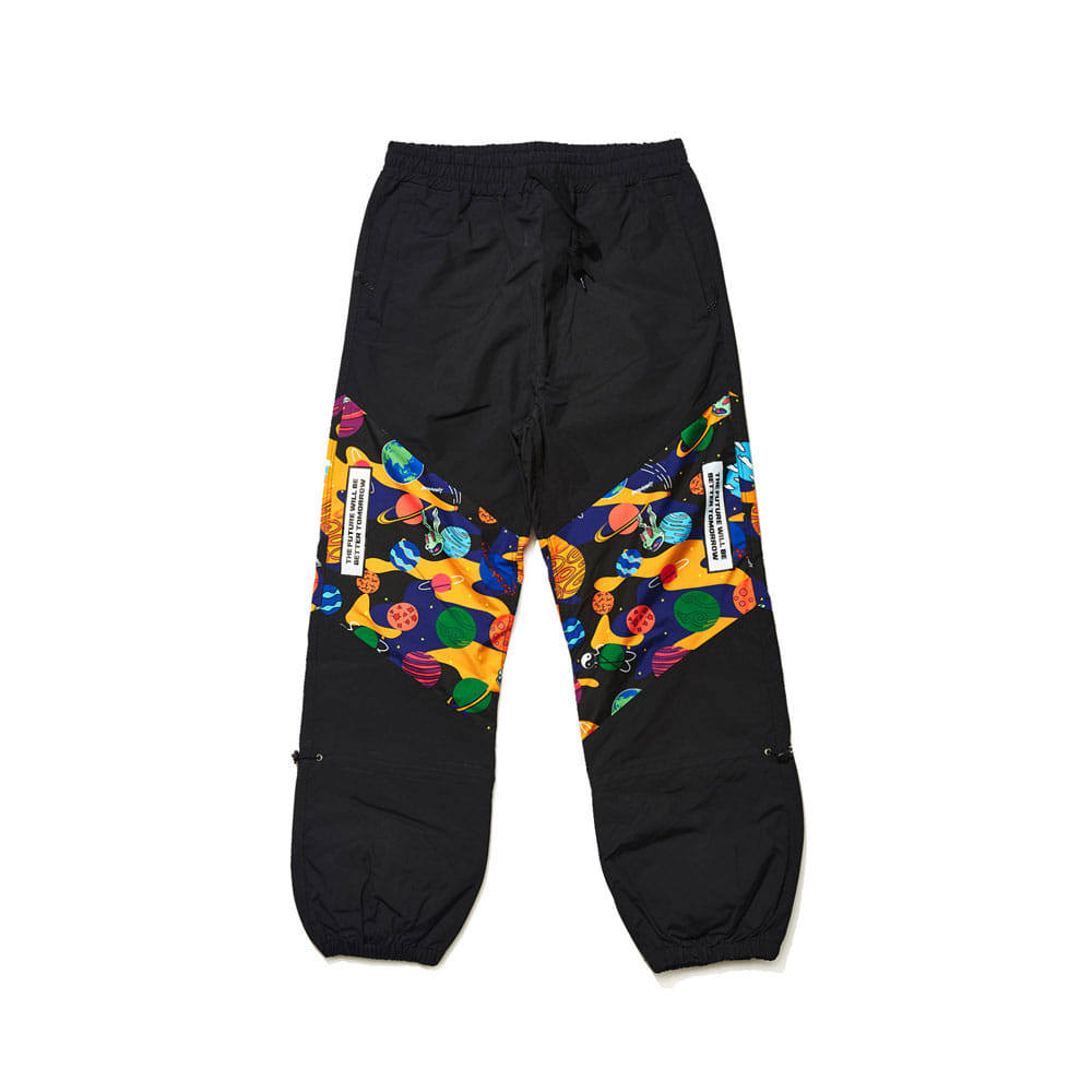 BSRABBIT BSR TRANSFORM BOX MULTI JOGGER PANTS BLACK