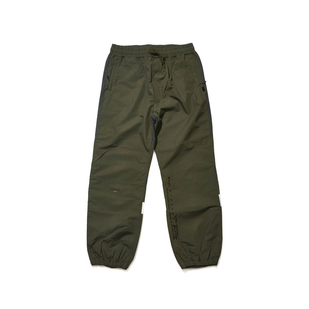 BSRABBIT BSR ACTIVE JOGGER PANTS DARK KHAKI