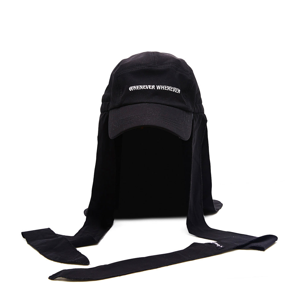 BSRABBIT WEWE DURAG FISHING WITH ENF CAP BLACK
