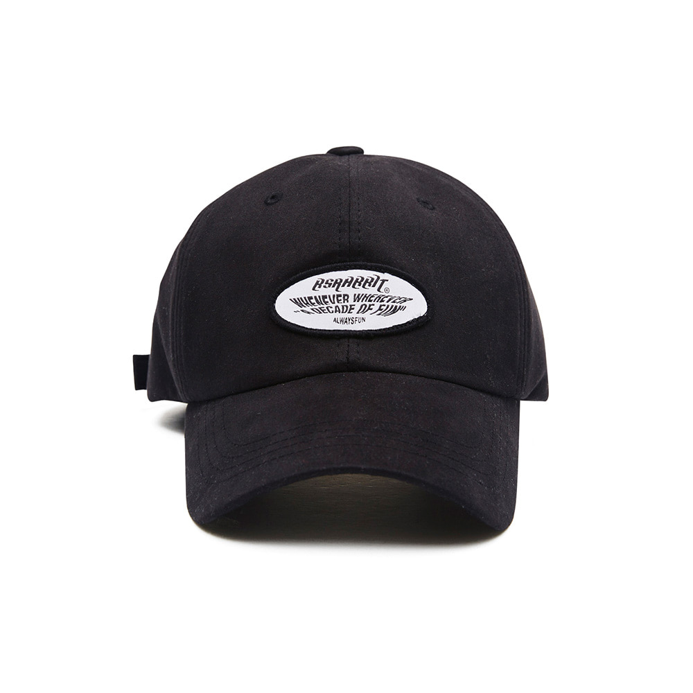 BSRABBIT WEWE WASHING CAP BLACK