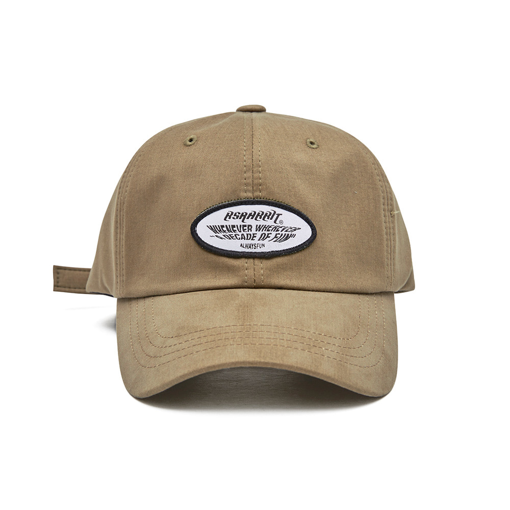 BSRABBIT WEWE WASHING CAP KHAKI