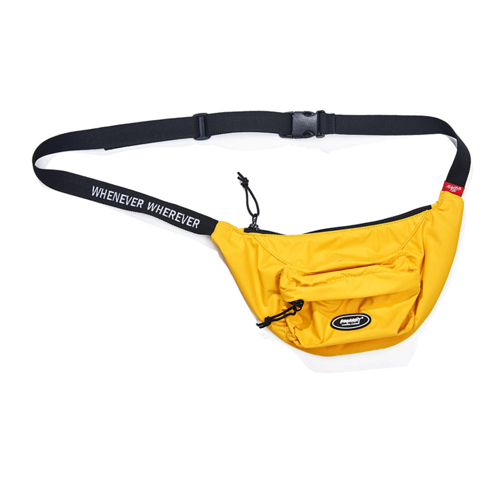 BSRABBIT LOGO POCKET WAIST BAG ORANGE