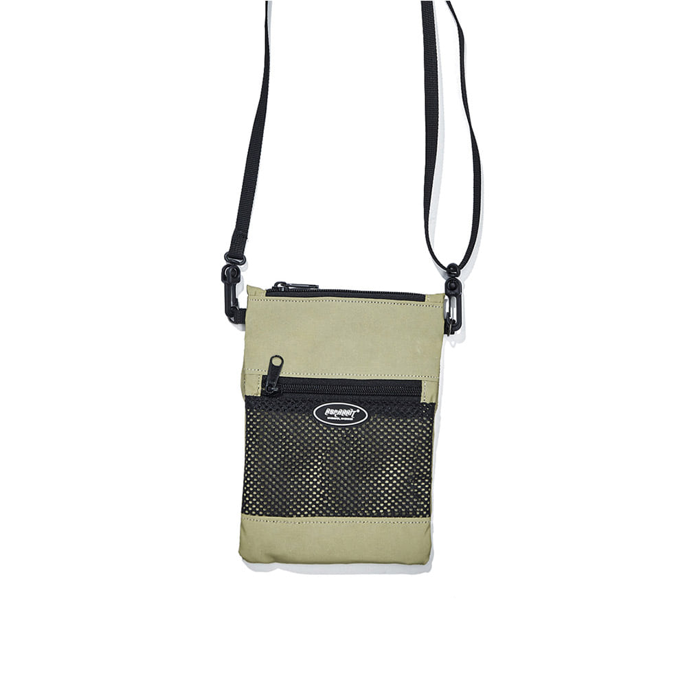 BSRABBIT BSRABBIT MINI CROSS BAG LIME REFLECTIVE