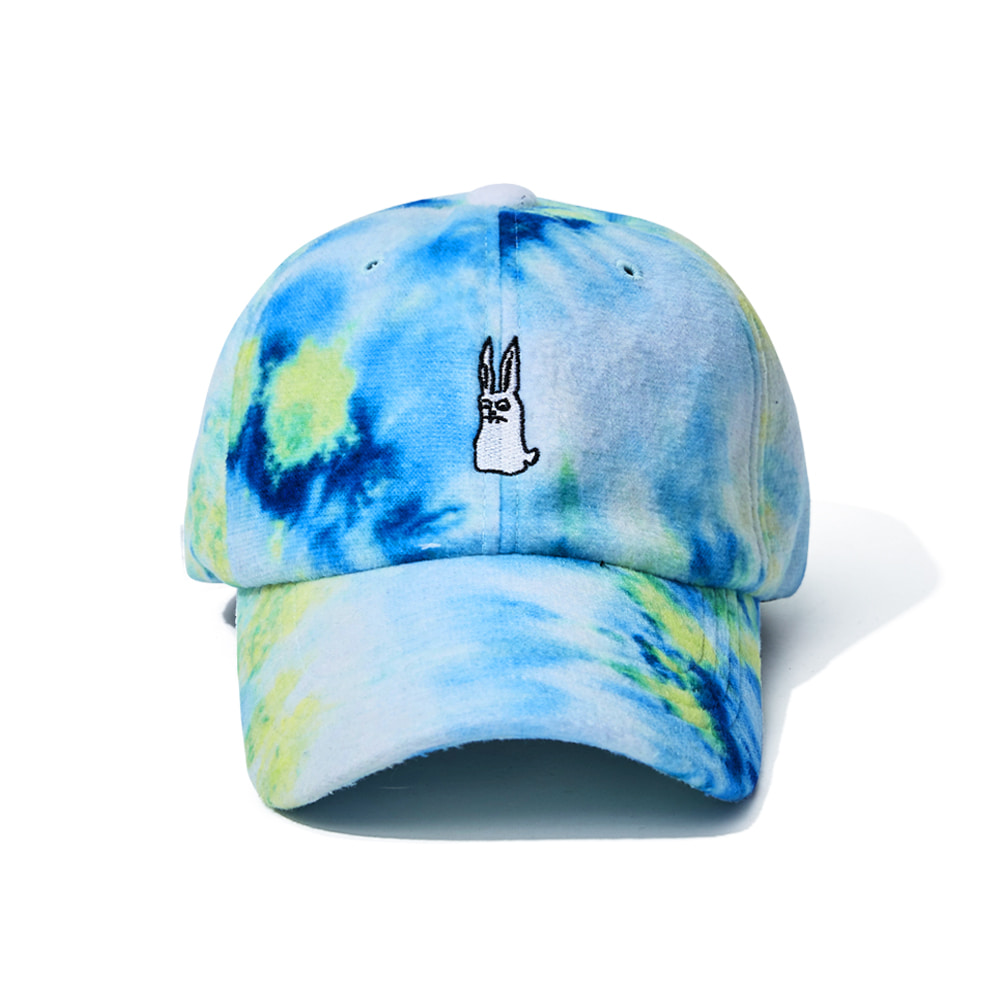 자체브랜드 GR TIE DYE FLEECE CAP BLUE