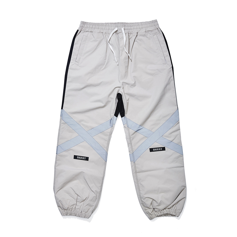 자체브랜드 POT-X REFLECTIVE JOGGER PANTS BEIGE