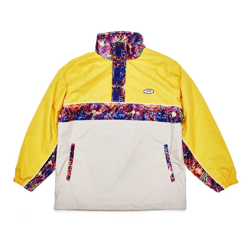 자체브랜드 DSXBR OVER ANORAK JACKET YELLOW/BEIGE
