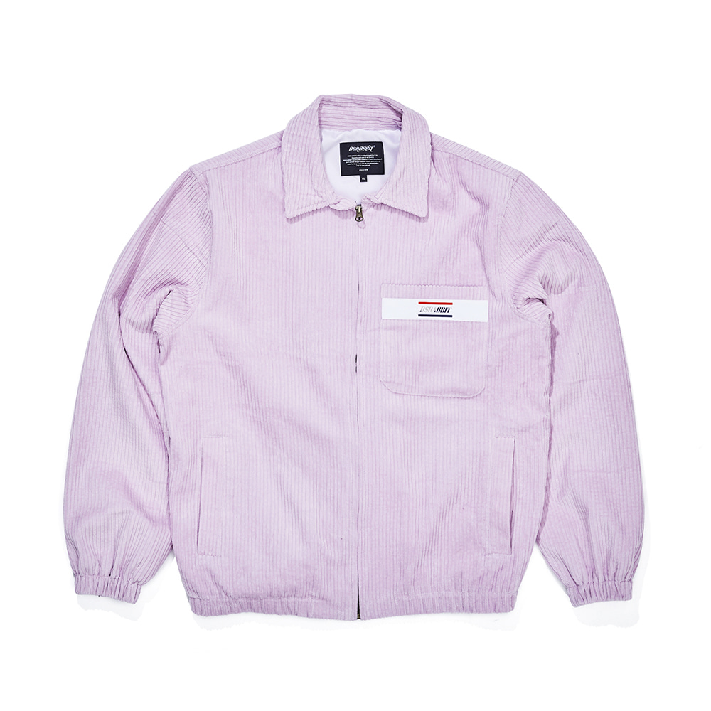 자체브랜드 CORDUROY COLLAR JACKET PURPLE