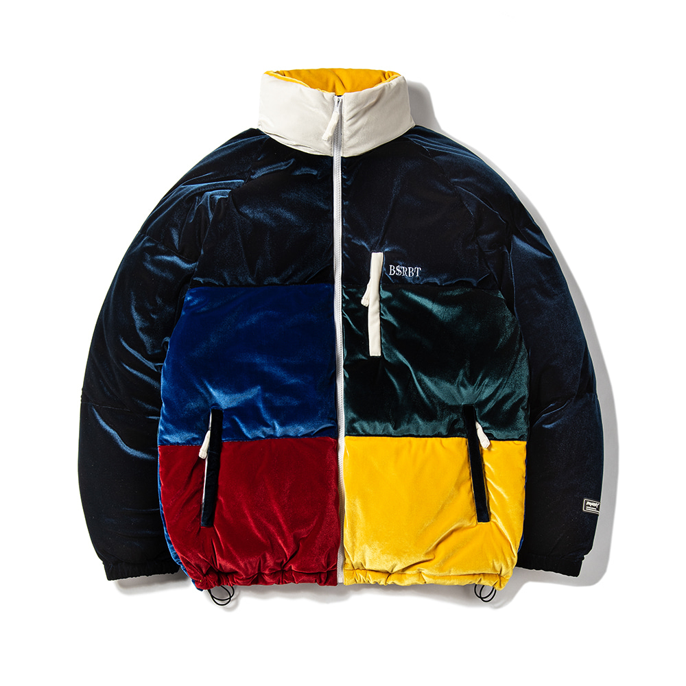 자체브랜드 VELVET DUCK DOWN PARKA MULTI